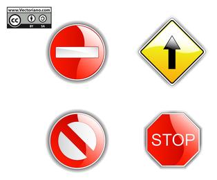 Verkehrszeichen eingestellt