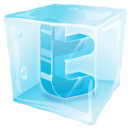 foram congelados ícone web20