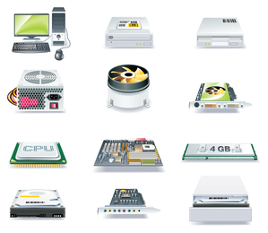 computer and accessories icon