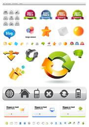 Layout do site e ícones