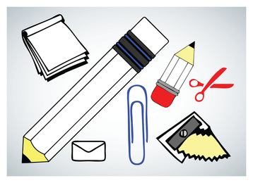 Schule-Vektor-Icons
