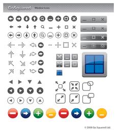 86 iconos vectoriales