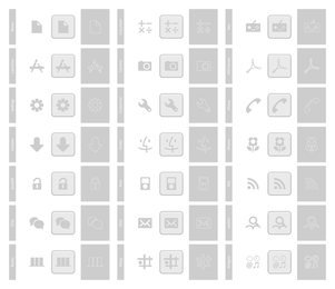 Phone Icons Pack