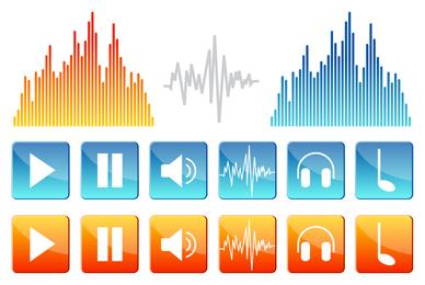 Pacote de ícones de som