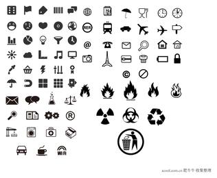 praktischer kleiner Symbolvektor
