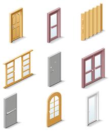 portas e janelas finas