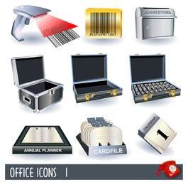 vector de icono de oficina de negocios