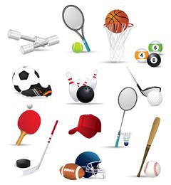 iconos vectoriales 2 sportsrelated