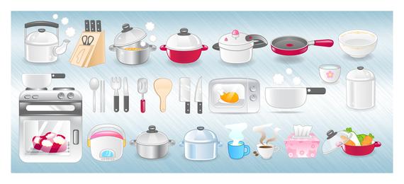 Ícones de cozinha