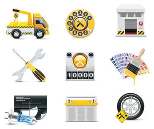 ícone de acessórios de táxi 1