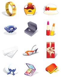 vector de iconos decorativos