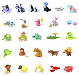 Ícono de artículos de animales de Daquan.