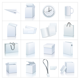 blank goods icon vector