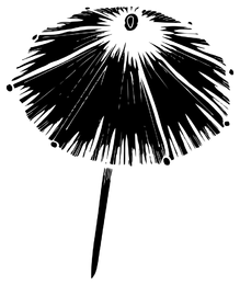 Chinese Umbrella Silhouette