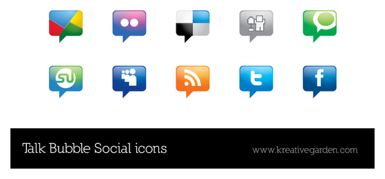 Talk Bubble Vector Social