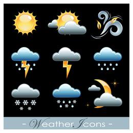 3D Wetter Icon Set