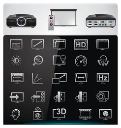 Vetor de ícone de tecnologia 2