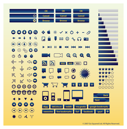 Internet Buttons Icons