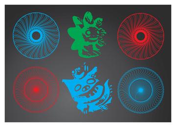 Circulo magico y grafico