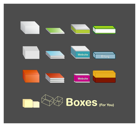 Boxen-Icon-Set
