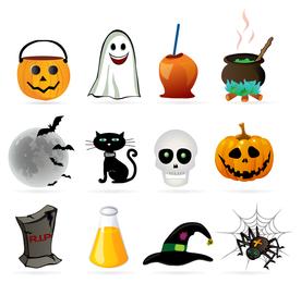 Halloween design element icon