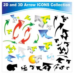 Dynamic arrow icon vector