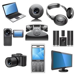 icono de productos de tecnología digital