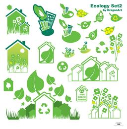 Vectors-Ecology Set