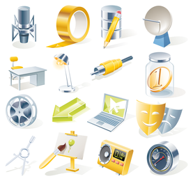 Office Icon Vector 3