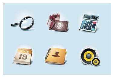 common icons 2 vector
