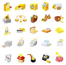 ícone de negócios relacionados com o vector