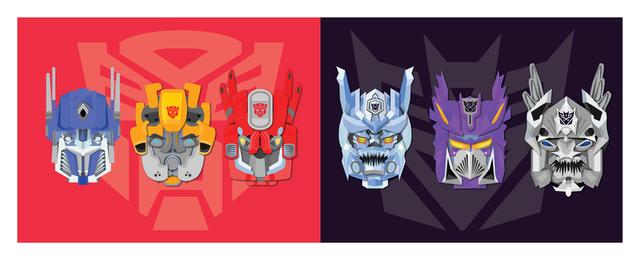 Iconos de transformers