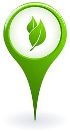 Ökologie-Zeiger-Vektor