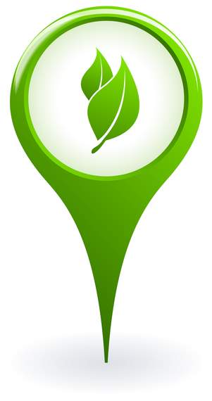 Ecology pointer vector