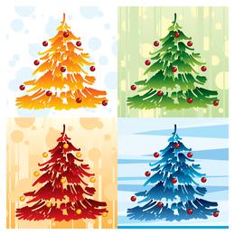 iconos de elemento de Navidad encantadora