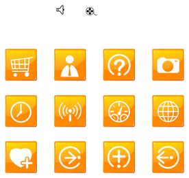 ícone ir artigos simples