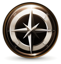 navigation icon 3 vector