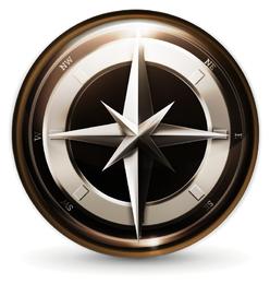 Navigationssymbol 3 Vektor