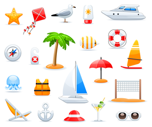 Icons Set 2 Vector