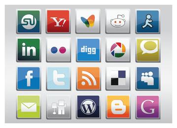 Vector de redes sociales gratis