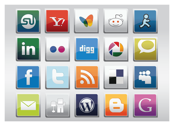 Vector livre mídia social