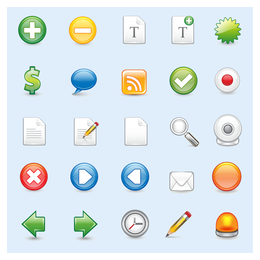 Iconos web