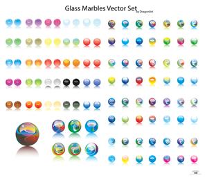 Lights crystal ball vector