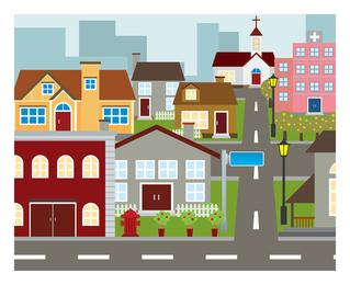Buliding und Haus