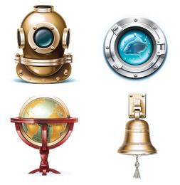 el vector icono de navegación