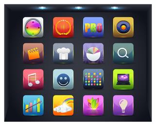 botão de ícone da web 2