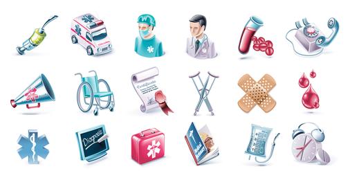 Gesundheit und medizinischer Vektor