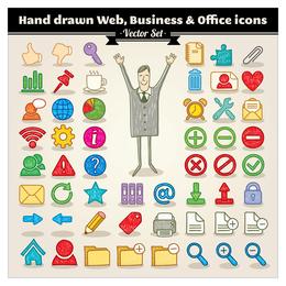 cartoon icon vector 4