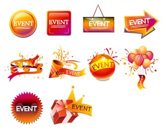festivals icon vector sales