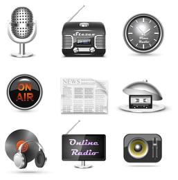 vetor de ícone de som